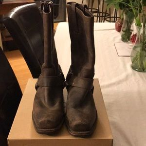Men's Frye Boot Brown leather size 8.5